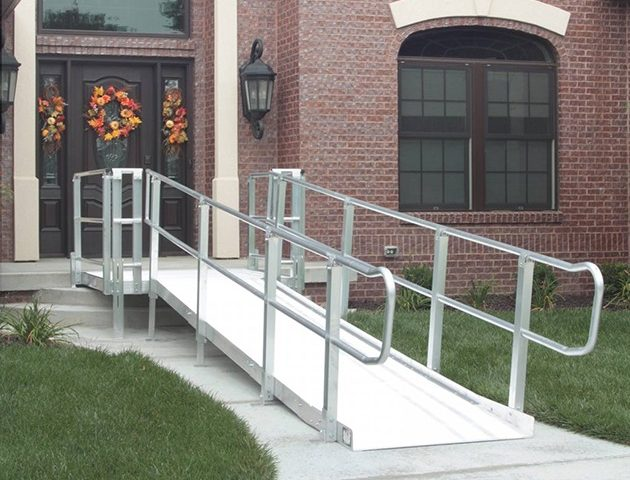 Large scooter/wheelchair ramp.