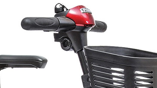 Mobility scooter handlebars